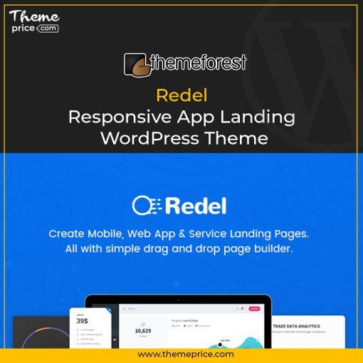 Redel – Responsive App Landing WordPress Theme