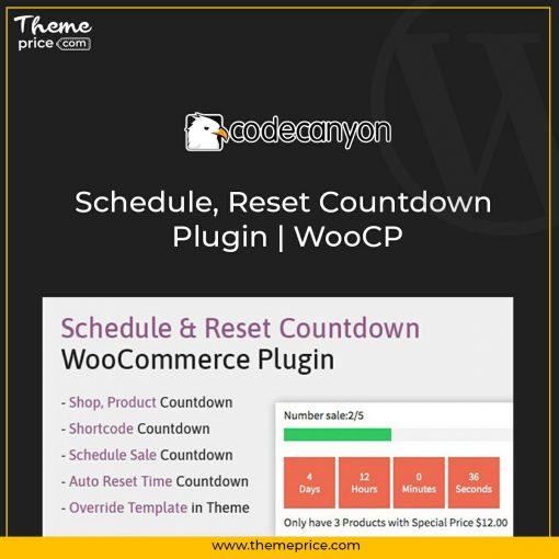 Schedule, Reset Countdown Plugin   WooCP