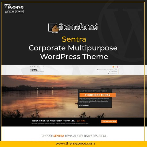 Sentra – Corporate Multipurpose WordPress Theme