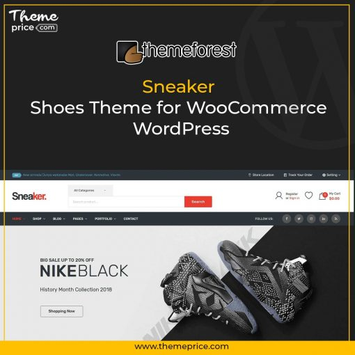 Sneaker – Shoes Theme for WooCommerce WordPress