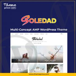 Soledad Multi-Concept AMP WordPress Theme