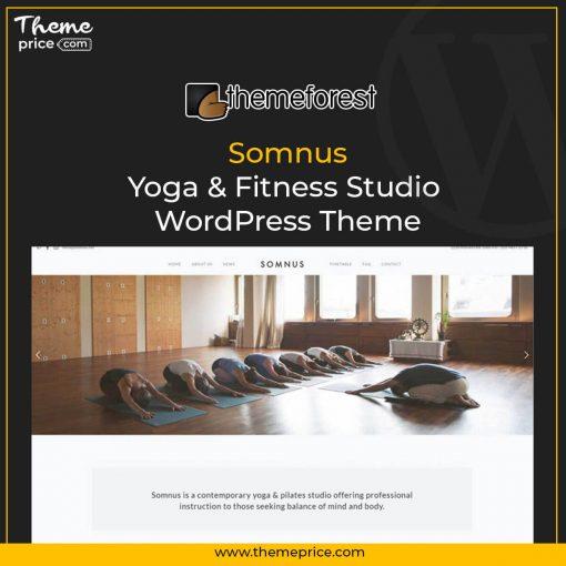 Somnus – Yoga & Fitness Studio WordPress Theme