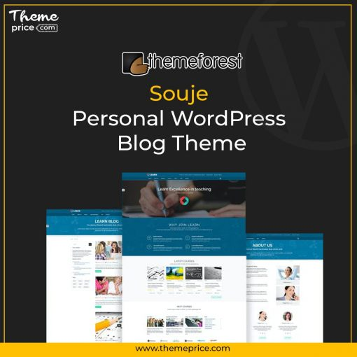 Souje – Personal WordPress Blog Theme