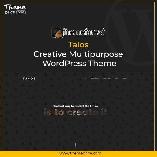 Talos – Creative Multipurpose WordPress Theme