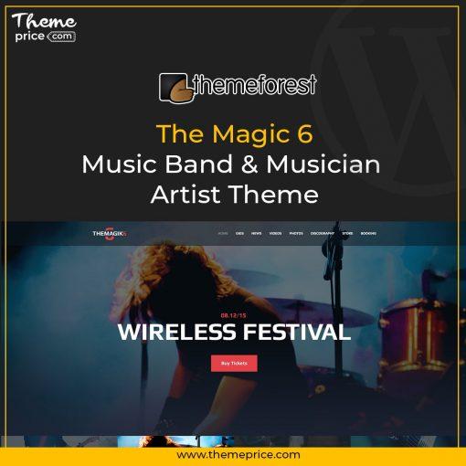 The Magic 6 – Music Band & Musician Artist Theme