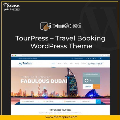 TourPress – Travel Booking WordPress Theme