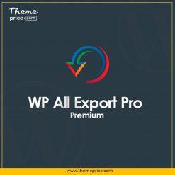 WP All Export Pro Premium