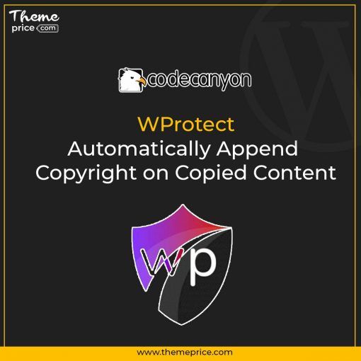 WProtect – Automatically Append Copyright on Copied Content