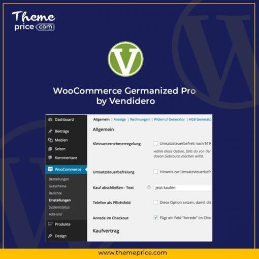 WooCommerce Germanized Pro by Vendidero