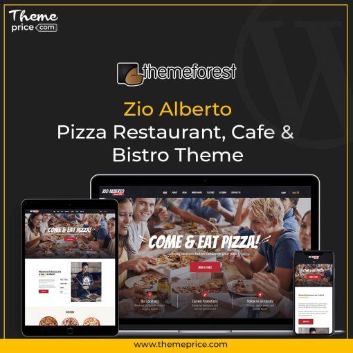 Zio Alberto   Pizza Restaurant, Cafe & Bistro Theme