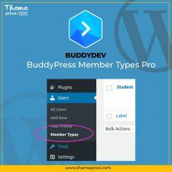 BuddyPress Member Types Pro