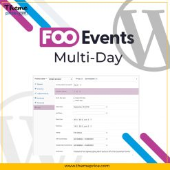 FooEvents Multi-Day