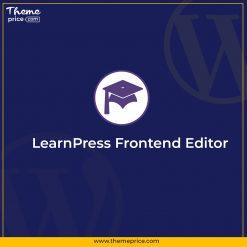 LearnPress Frontend Editor
