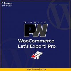 PW WooCommerce Let's Export! Pro