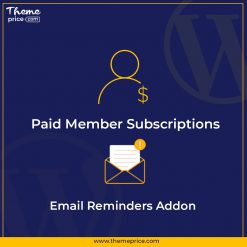 Paid Member Subscriptions Email Reminders Addon