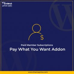 Paid Member Subscriptions Pay What You Want Addon