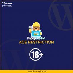 Popup Builder Age Restriction