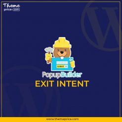 Popup Builder Exit Intent