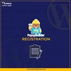 Popup Builder Registration