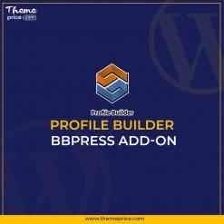Profile Builder – bbPress Add-on