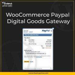 WooCommerce Paypal Digital Goods Gateway