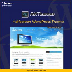 Halfscreen WordPress Theme