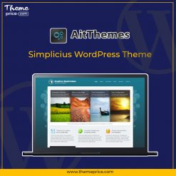 Simplicius WordPress Theme