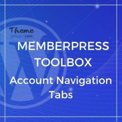 MemberPress Toolbox – Account Navigation Tabs