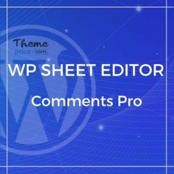 WP Sheet Editor – Comments Pro