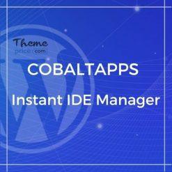 CobaltApps Instant IDE Manager
