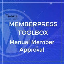 MemberPress Toolbox – Manual Member Approval