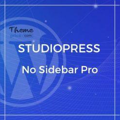 No Sidebar Pro Theme