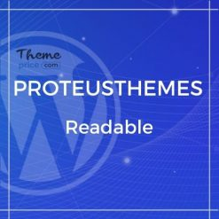 Readable – Blogging WordPress Theme Focused on Readability