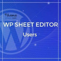 WP Sheet Editor – Users (Premium)