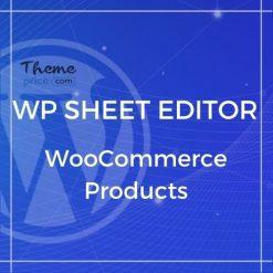 WP Sheet Editor – WooCommerce Products (Premium)