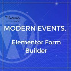 Elementor Form Builder for MEC